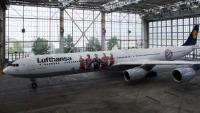 ニュース画像 1枚目:バイエルン・ミュンヘン特別塗装機