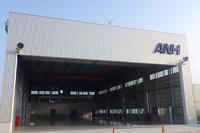 ニュース画像:空港施設、仙台空港に第三小型機用格納庫が完成 震災発生時でも利用可