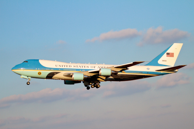 ニュース画像 1枚目:現行の大統領専用機VC-25A