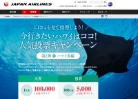 ニュース画像 1枚目:JAL 今行きたいハワイはココ! 人気投票キャンペーン