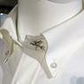 ニュース画像 2枚目:JAL機をイメージしたオリジナル飾りボタン