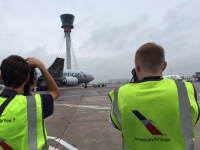 ニュース画像:アメリカン航空、航空マニア向けツアーを開催 米・航空の日にあわせ