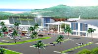 ニュース画像 1枚目:パラオ国際空港、完成時の予想図