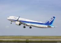 ニュース画像:エアバス、ANAにA321neo初号機「JA131A」を引き渡し
