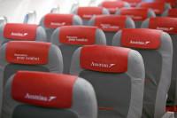 ニュース画像:オーストリア航空、プレミアム・エコノミーのサービスを発表 装着も開始