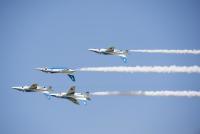ニュース画像:三沢基地航空祭、F-35BやB-1B展示 ブルーインパルスも晴天の下演技