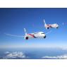ニュース画像 1枚目:マレーシア航空塗装の787-9と737 MAX