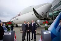 ニュース画像:ボーイング、カタール航空が747-8Fを2機、777-300ERを4機受注