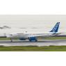 ニュース画像 2枚目:機体ロゴは「BOMBARDIER」に変更されている