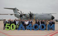 ニュース画像 1枚目:エアバスDS、A400Mの50機目