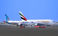 ニュース画像:エミレーツ航空、10月29日からフライドバイとコードシェアを開始
