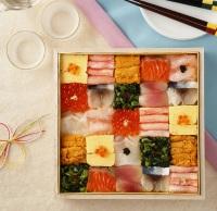 ニュース画像 1枚目:一乃松が手がけた「迎春寿司」