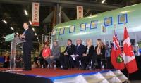 ニュース画像 1枚目:ミシサガ工場での式典