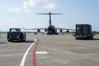ニュース画像:三沢35FWの築城基地への訓練移転、C-17などで約45トンを輸送
