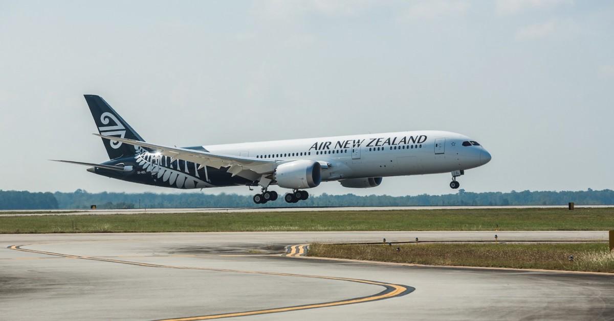 ニュース画像 1枚目:ニュージーランド航空 787-9