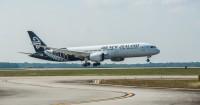 ニュース画像:ニュージーランド航空、新たな内装の787-9を受領 プレミアクラスを増席