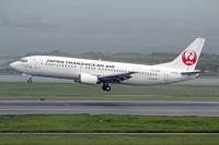 ニュース画像:日本トランスオーシャン航空、「JA8991」を抹消 元JEX737-400で初