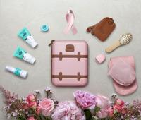 ニュース画像:カタール航空、乳がん月間でピンク色の限定版アメニティキットを提供