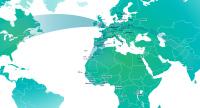 ニュース画像 1枚目:ブリュッセル航空、ネットワーク