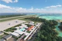 ニュース画像 1枚目:旅客ターミナル施設を設ける下地島空港、イメージ