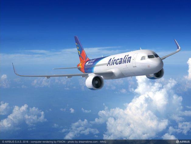 ニュース画像 2枚目:エアカランのA320neo
