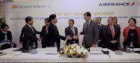ニュース画像 1枚目:エールフランスとベトナム航空、共同事業に調印