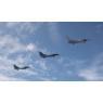 ニュース画像 2枚目:F-16CとF-2Aで訓練