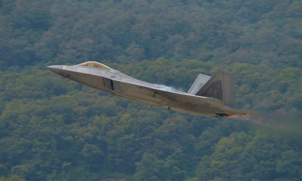 ニュース画像 1枚目:F-22ラプター