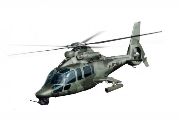 ニュース画像 1枚目:H155をベースに開発される韓国の軽攻撃ヘリコプター(LAH)想像図