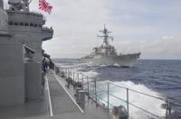 ニュース画像 1枚目:「しまかぜ」から撮影した「ステザム」、10月14日の沖縄周辺海域