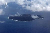 ニュース画像 1枚目:西之島の全景