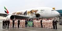 ニュース画像:エミレーツ航空、ブラジル就航10周年 サンパウロとリオデジャネイロ線