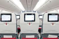 ニュース画像:オーストリア航空、新プレエコ装着の767がウィーン/シカゴ線で初飛行