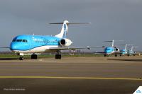 ニュース画像:KLMシティホッパー、フォッカー70を完全退役 97年の協力関係に幕