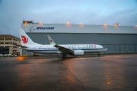 ニュース画像:ボーイング、中国国際航空に737-8-MAXを納入 中国の航空会社で初