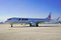 ニュース画像:エンブラエル、ジェイ・エアE190の10機目 運航開始を祝福