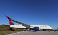 ニュース画像:デルタ航空、A350に導入した新座席の広告キャンペーンを都内で展開