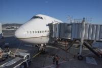 ニュース画像:ユナイテッド航空、747-400のラストフライトを「N118UA」で運航