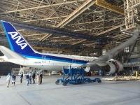 ニュース画像 1枚目:9位のANA機体工場見学