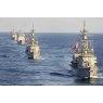 ニュース画像 4枚目:まきなみ、いなづまに続き、ミサイル巡洋艦「バンカー・ヒル」と駆逐艦「プレブル」