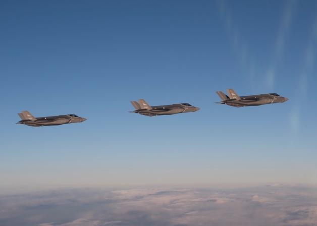 ニュース画像 1枚目:ノルウェー空軍、F-35Aの3機