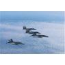ニュース画像 2枚目:F-15とF/A-18の訓練飛行