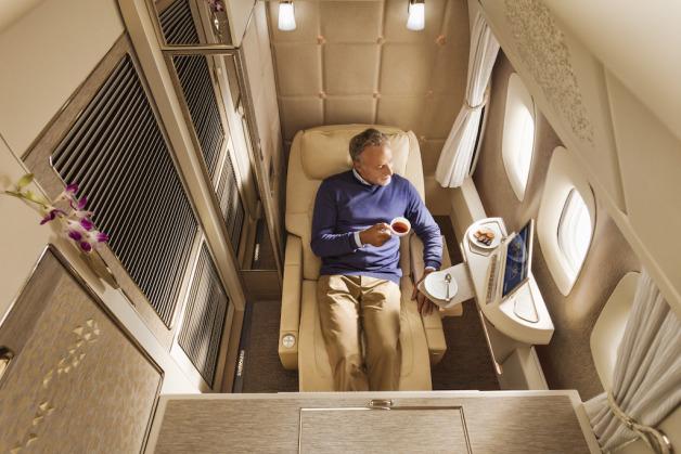 ニュース画像 1枚目:エミレーツ航空、777に装着する新ファーストクラス