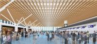 ニュース画像 1枚目:国際線旅客ターミナルビル増築部、チェックインロビー