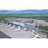 ニュース画像 2枚目:国際線旅客ターミナルビル エプロンサイドからの増築部鳥瞰