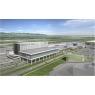 ニュース画像 3枚目:国際線旅客ターミナルビル、ランドサイドからの増築部鳥瞰