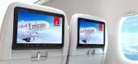 ニュース画像 1枚目:エミレーツ航空のエコノミー、モニター