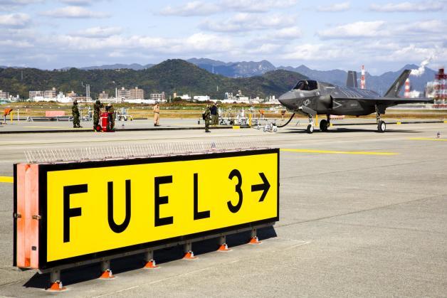 ニュース画像 1枚目:給油するF-35BライトニングII