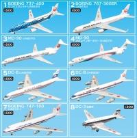 ニュース画像:F-toys、「JALウイングコレクション5」を3月30日に発売