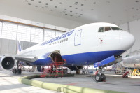 ニュース画像:ボーイング上海、トランスアエロ航空と767のメンテナンス契約を締結